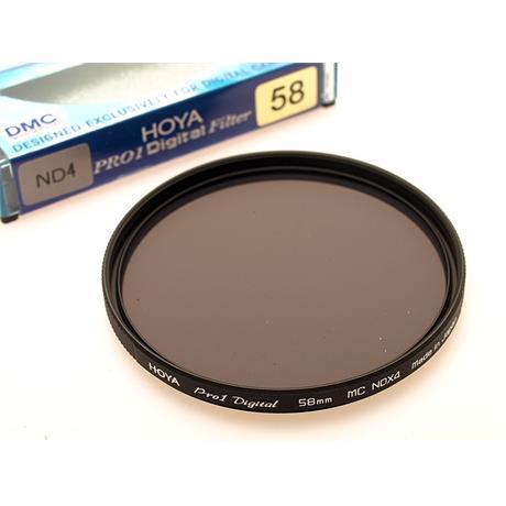 Hoya 58mm Neutral Density ND4x thumbnail