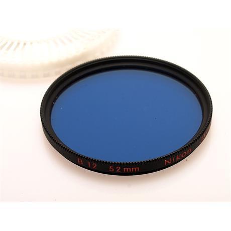 Nikon 52mm Blue B12 thumbnail