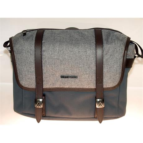 Manfrotto Windsor Messenger S Bag - Grey thumbnail