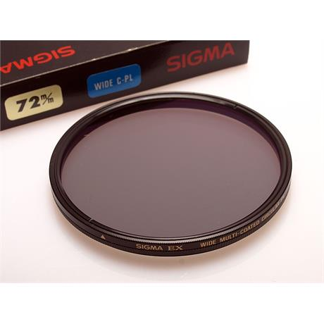 Sigma 72mm Wide Circular Polariser thumbnail
