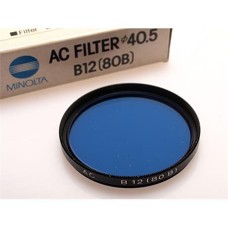 Minolta 40.5mm Blue 80B thumbnail