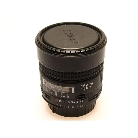 Nikon 16mm F2.8 AFD Fisheye thumbnail