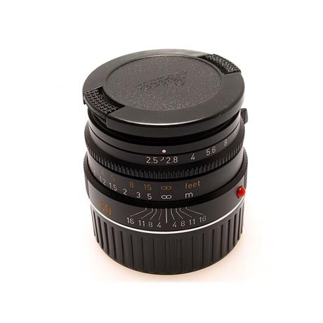 Leica 50mm F2.5 M Black 6bit thumbnail