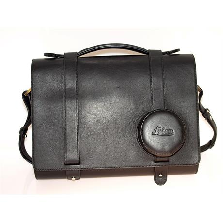 Leica Day Bag Q - Black Leather thumbnail