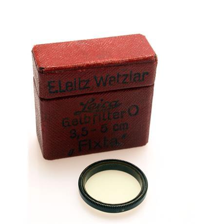 Leica Yellow 0 - 50mm F3.5 Elmar thumbnail