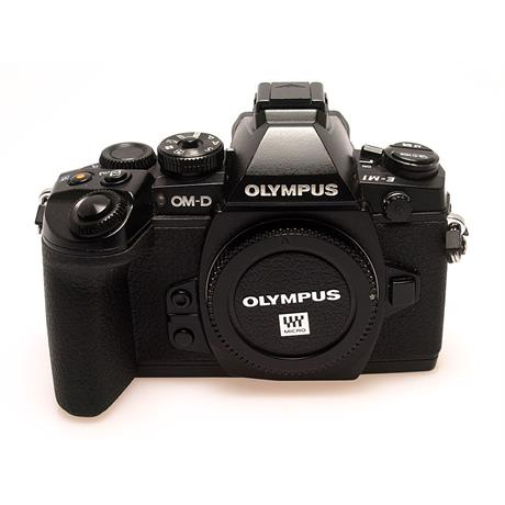 Olympus E-M1 Black Body Only thumbnail