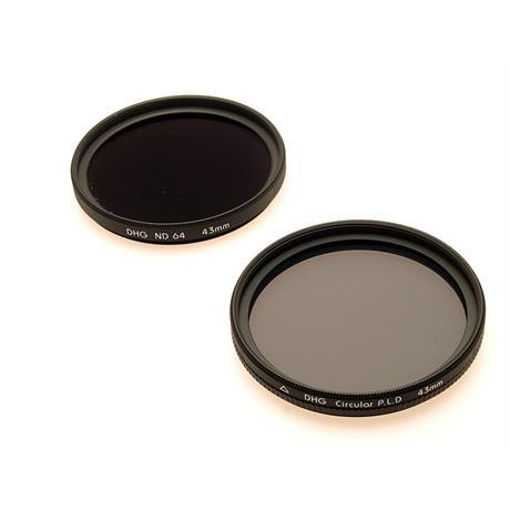 Marumi 43mm Circular Polariser + ND64x thumbnail