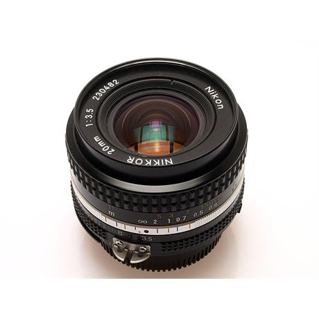Nikon 20mm F3.5 AIS thumbnail
