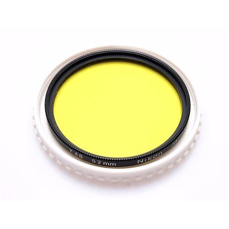 Nikon 52mm Yellow Y48 thumbnail