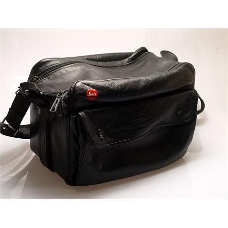 Leica Black Leather Shoulder Bag thumbnail