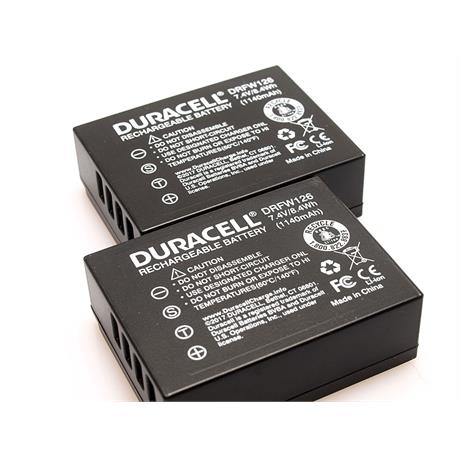 Duracell 2x NPW126 Battery for Fujifilm thumbnail