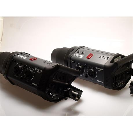 Bowens 2x GM750 Plus Flash Heads + 1x 750 Pro Heads thumbnail