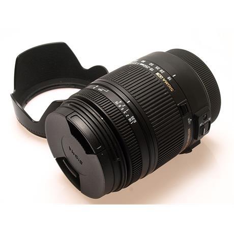 Sigma 18-250mm F3.5-6.3 DC Macro OS HSM - Cano thumbnail
