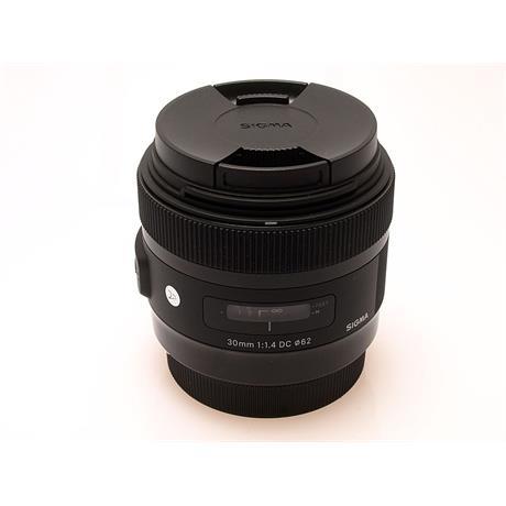 Sigma 30mm F1.4 EX DC HSM A - Canon EOS thumbnail