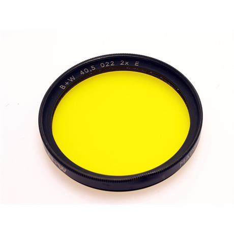 B+W 40.5mm Yellow (022) thumbnail