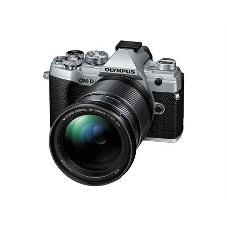 Olympus OM-D E-M5 III + 12-200mm Kit - Silver *Extra Offer Normally £1489* thumbnail