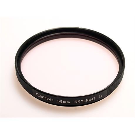 Canon 58mm Skylight thumbnail