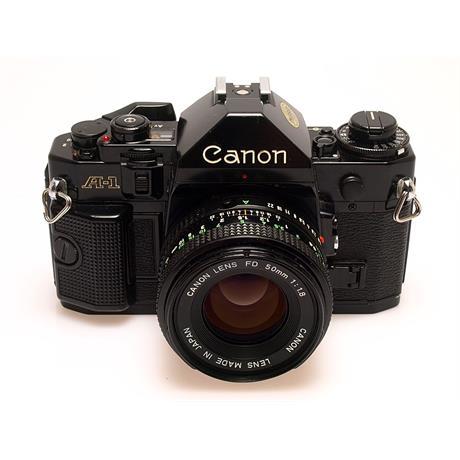 Canon A1 Black + 50mm F1.8 thumbnail