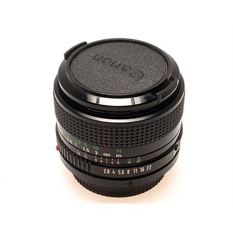 Canon 28mm F2.8 FD thumbnail