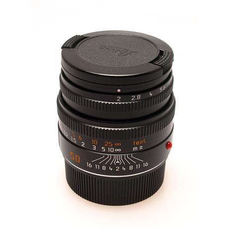 Leica 50mm F2 M Black 6bit thumbnail