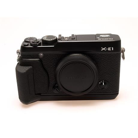 Fujifilm X-E1 Black Body + Grip thumbnail
