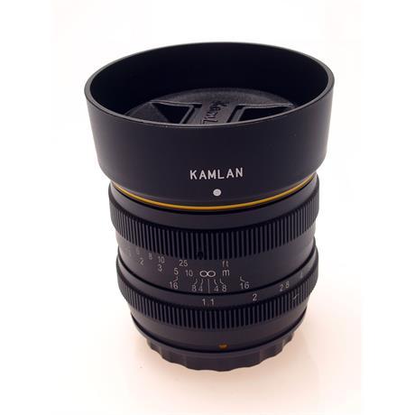 Kamlan 50mm F1.1 - Fuji X thumbnail