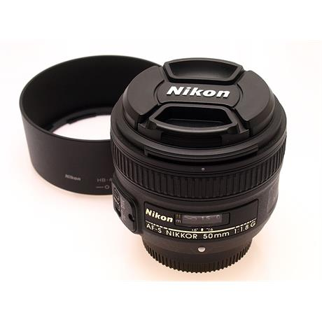 Nikon 50mm F1.8 G AFS thumbnail