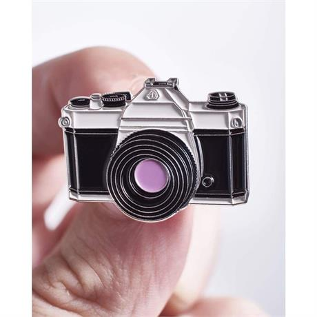 Offcial Exclusive Pentax K1000 - Pin Badge thumbnail