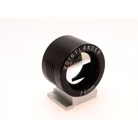 Voigtlander 75mm Finder Black Metal thumbnail