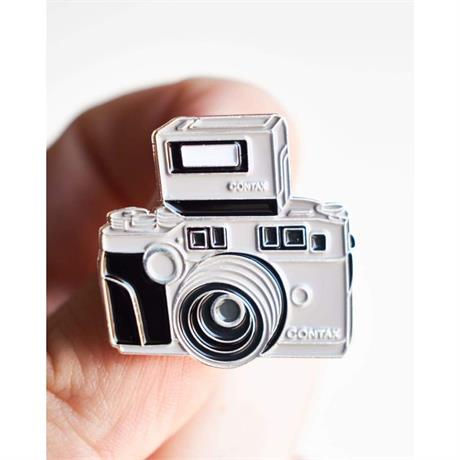 Offcial Exclusive Contax G2 - Pin Badge thumbnail