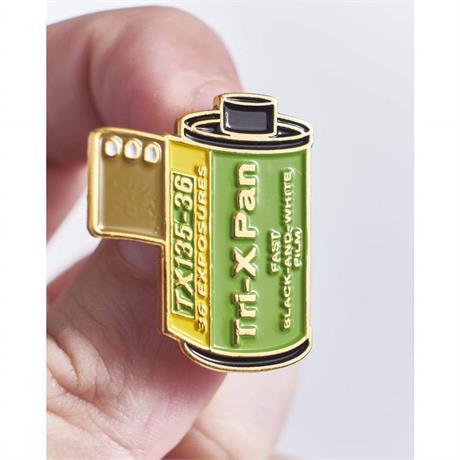 Offcial Exclusive Kodak Tri-X Pan 400 35mm Film - Pin Badge thumbnail