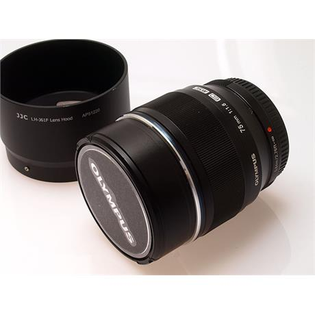 Olympus 75mm F1.8 ED M.Zuiko - Black thumbnail