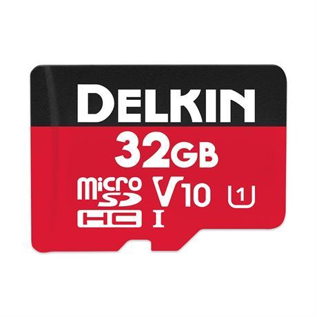 Delkin 32GB microSDHC UHS-1 Select 500x V10 thumbnail