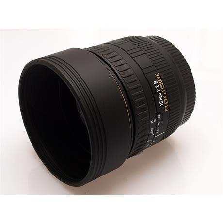 Sigma 15mm F2.8 EX DG Fisheye - Canon EOS thumbnail
