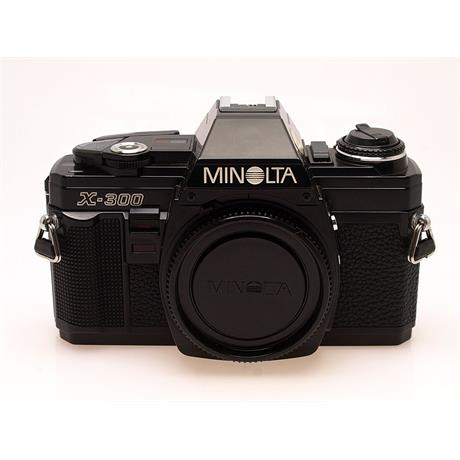 Minolta X300 Black Body Only thumbnail