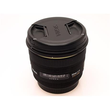 Sigma 50mm F1.4 EX DG HSM - Canon EOS thumbnail