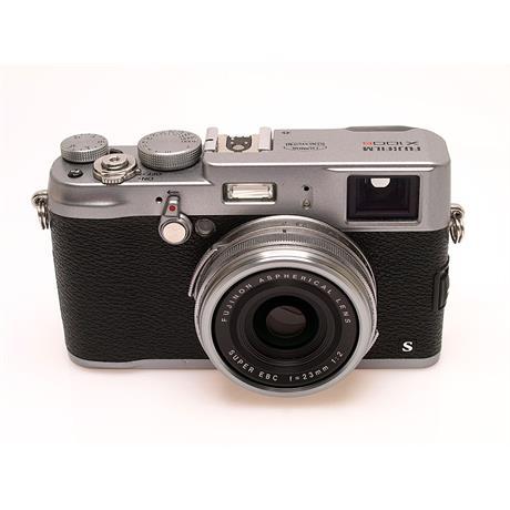 Fujifilm Finepix X100s Silver thumbnail