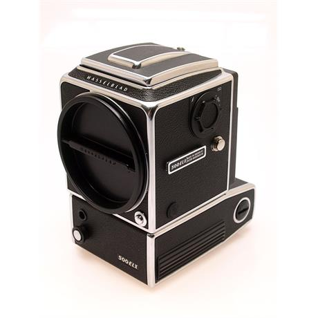 Hasselblad 500ELX Chrome Body + A12 Mag thumbnail