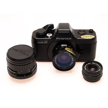 Pentax Auto 110 + 18mm F2.8 + 50mm F2.8 thumbnail