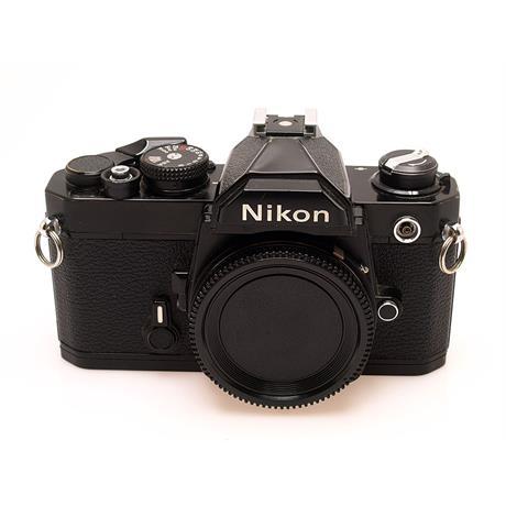 Nikon FM Black Body Only thumbnail