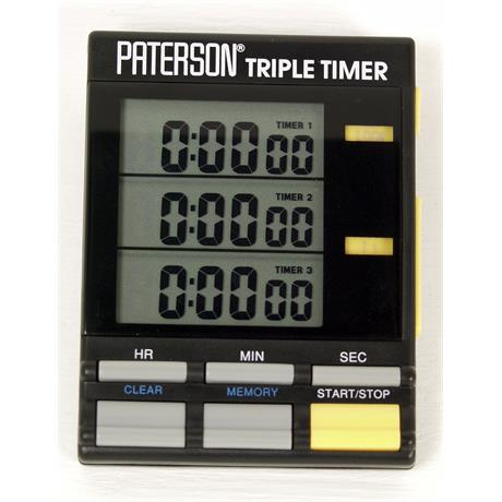 Paterson Triple Timer Clock thumbnail