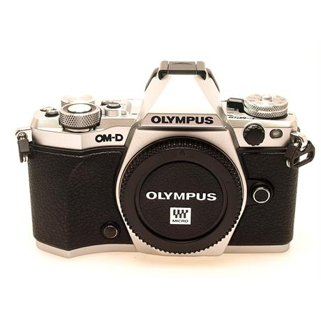 Olympus OM-D E-M5 II Body Only - Silver thumbnail