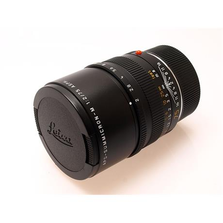 Leica 75mm F2 Apo M Black 6bit thumbnail
