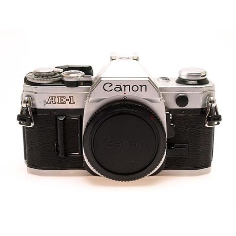 Canon AE1 Chrome Body Only thumbnail