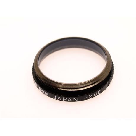 Nikon FM3A/FM2/FE2/FA Dioptre -2 thumbnail