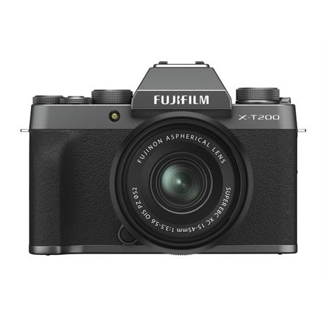 Fujifilm X-T200 + 15-45mm XC - Dark Silver / Black   thumbnail