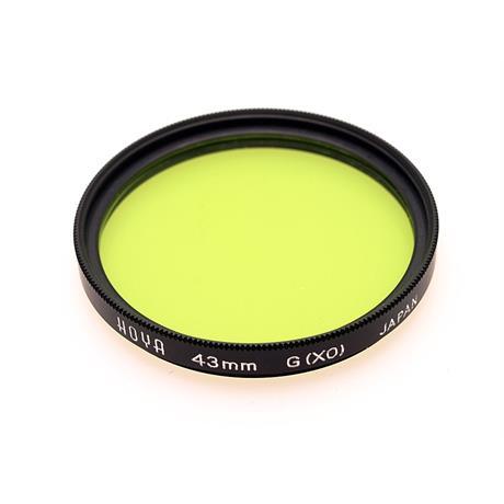 Hoya 43mm Green X0 thumbnail