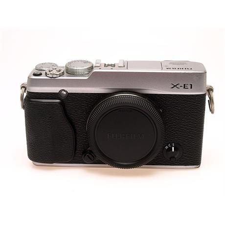 Fujifilm X-E1 Silver Body Only thumbnail