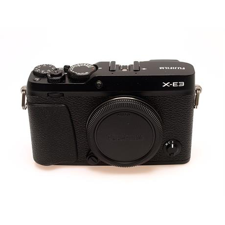 Fujifilm X-E3 Body Only - Black thumbnail