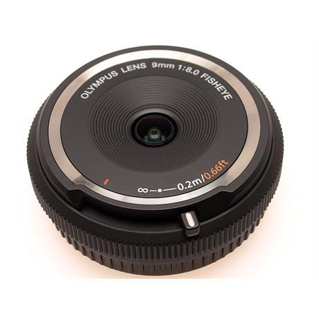 Olympus 9mm F8 Fisheye Body Cap - Black ( BCL-09 thumbnail
